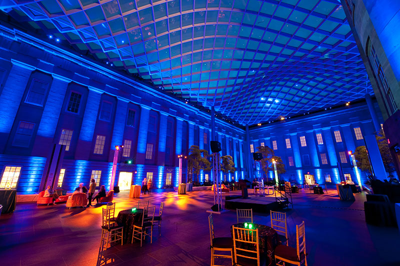 Kogod Courtyard, Image courtesy of Freed Photography