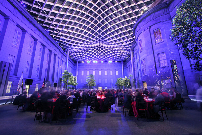 Kogod Courtyard, Image courtesy of Imijination Photography