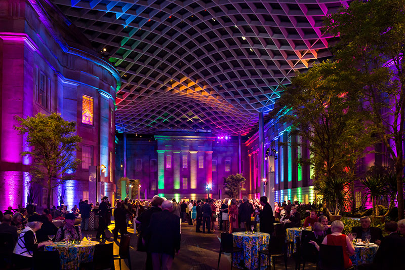 Kogod Courtyard, Image courtesy of PixelMe Studio